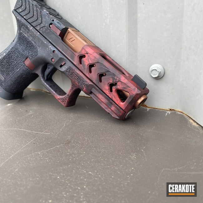 Cerakoted: S.H.O.T,Custom Glock,Sniper Grey H-234,Fire,Graphite Black H-146,RUBY RED H-306,Crimson H-221,HABANERO RED H-318,Glock