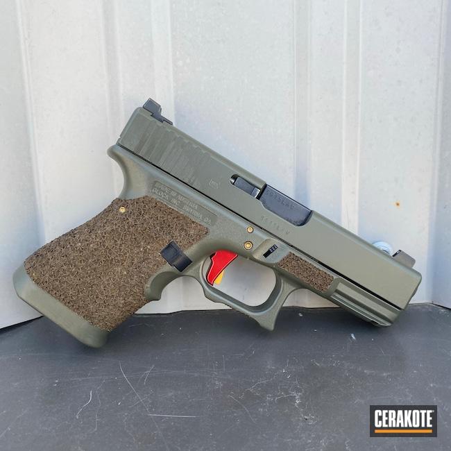 Cerakoted: S.H.O.T,Custom Glock,Glock,MOSS E-210