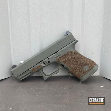 Glock Cerakoted Using Moss