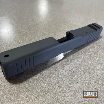 Glock Slide Cerakoted Using Sniper Grey
