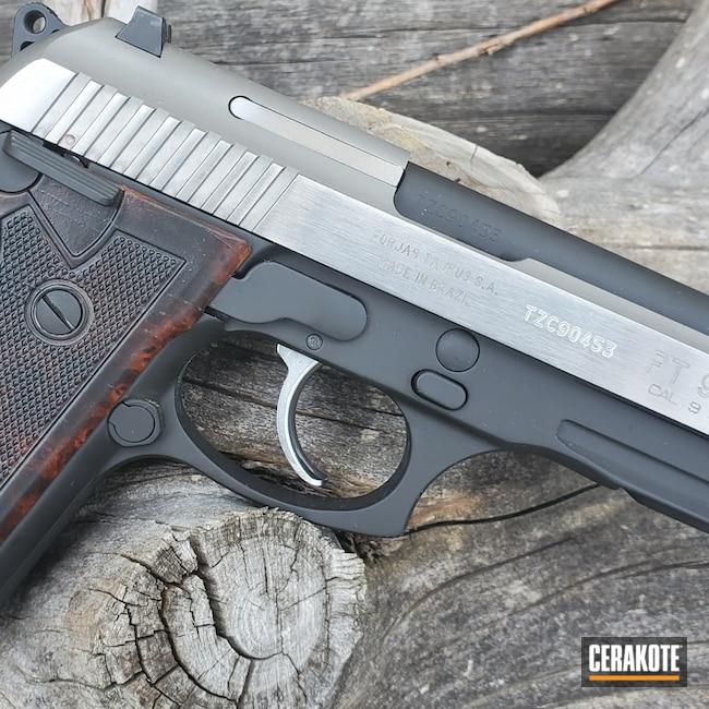 Cerakoted: S.H.O.T,9mm,Graphite Black H-146,Armor Black H-190,Pistol,HIGH GLOSS ARMOR CLEAR H-300,Taurus