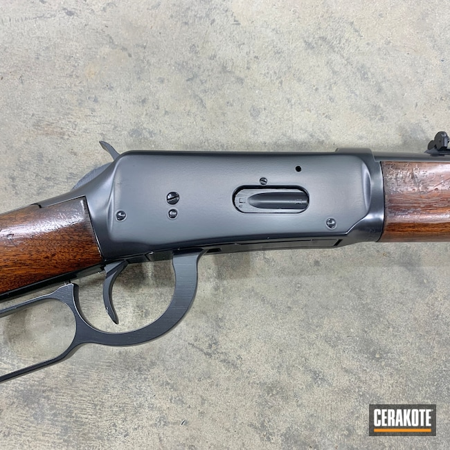 Cerakoted: S.H.O.T,Rifle,Winchester,BLACKOUT E-100,30-30,Lever Action,Winchester Model 94