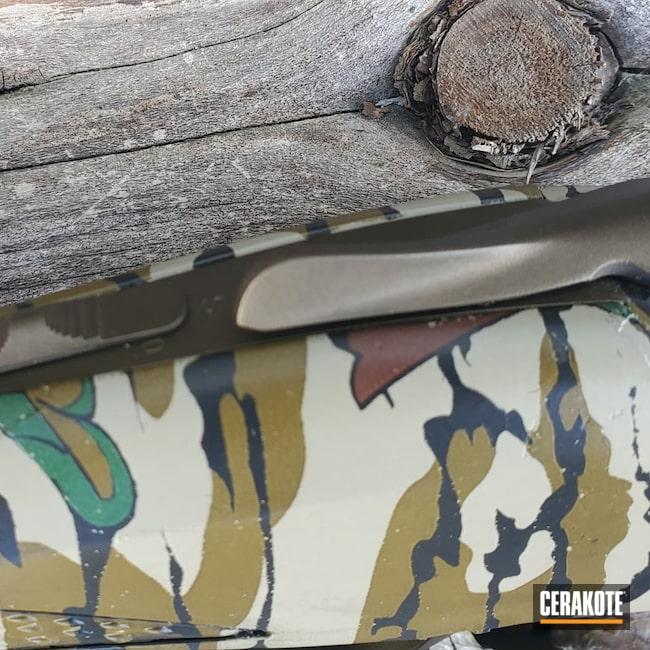 Cerakoted: S.H.O.T,Shotgun,MATTE CERAMIC CLEAR MC-161,Browning,12 Gauge,Cynergy,Midnight Bronze H-294