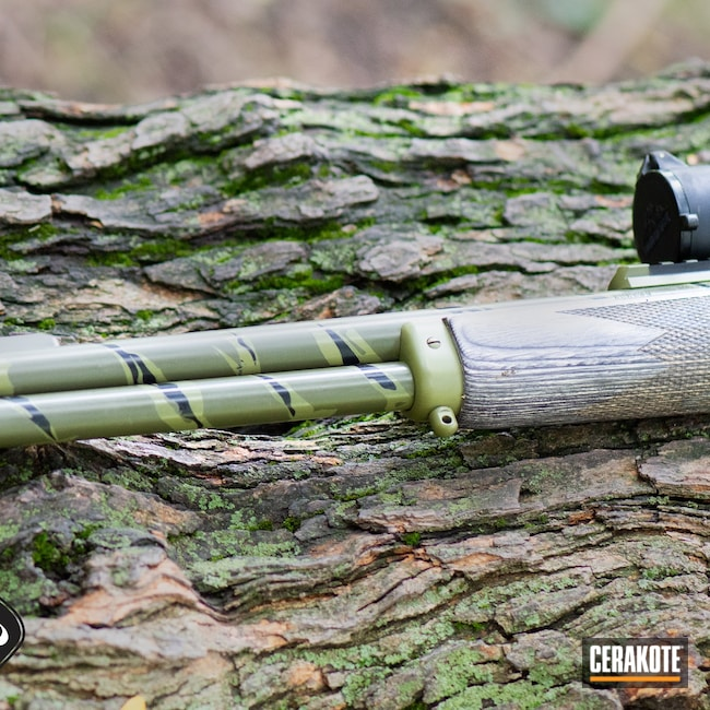Cerakoted: S.H.O.T,Tiger Stripes,Marlin,45-70,Deer Rifle,Lever Action,Lever Action Rifle,Jurassic Park,O.D. Green H-236,Noveske Bazooka Green H-189