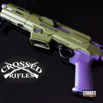Ruger Pc9 Cerakoted Using Noveske Bazooka Green