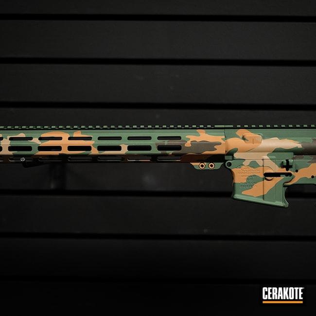 Cerakoted: S.H.O.T,Rifle,Woodland Camo,Battle Rifle,AR Parts,5.56,AR Build,AR15 Lower,Noveske Tiger Eye Brown H-187,Custom Rifle,Graphite Black H-146,AR,AR Project,Camo,MAGPUL® FDE C-267,Custom Rifle Build,Camouflage,AR Upper,Green,Ar Rail,AR Rifle,.223 Wylde,AR-15,MAGPUL® FOLIAGE GREEN H-231