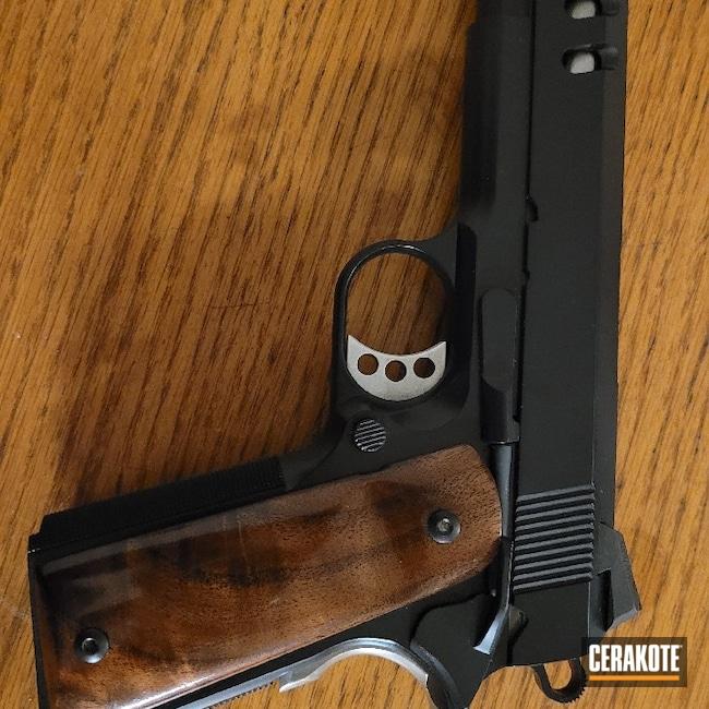 Cerakoted: S.H.O.T,Titanium E-250,Long Creek Gun Works,Midnight E-110,Custom 1911,Pistol
