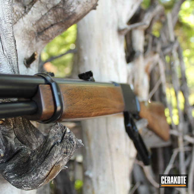 Cerakoted: S.H.O.T,Gloss Black H-109,Lever Action,Browning,.22