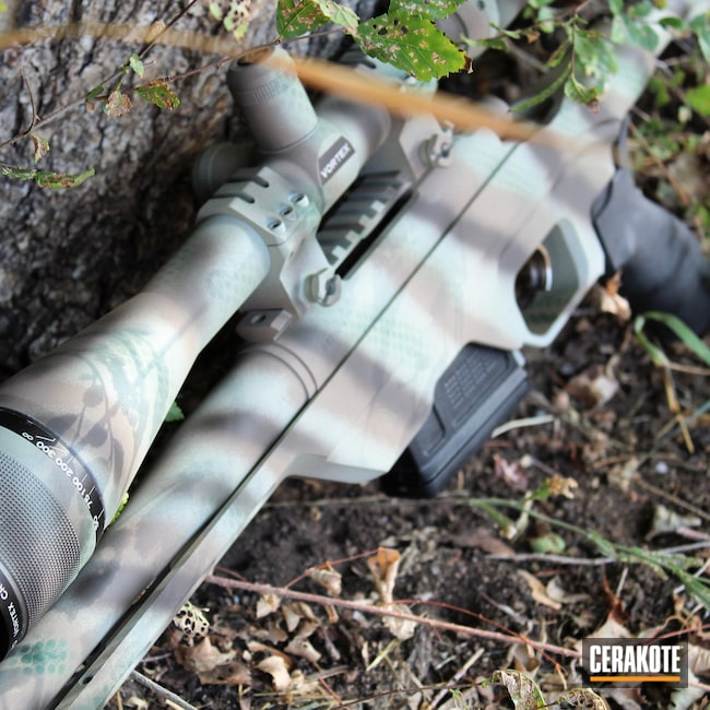 Cerakoted: S.H.O.T,Bolt Action Rifle,Bolt Gun,Highland Green H-200,Rem,DESERT VERDE H-256,Remington,Flat Dark Earth H-265,.308,Plum Brown H-298,Remington 700