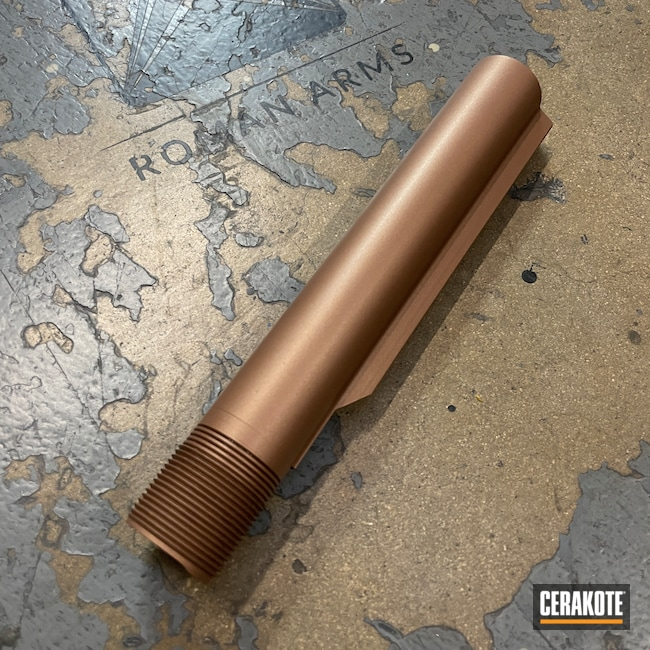 Cerakoted: S.H.O.T,Custom Mix,COPPER H-347,Burnt Bronze H-148,Vltor,Buffer Tube,Tanodize