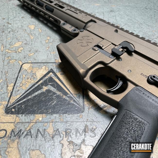Cerakoted: S.H.O.T,AR15 Builders Kit,Modern Sporting Rifle,Upper / Lower / Handguard,Noveske,.223,Assault Weapon,SBR,Midnight Bronze H-294,n4,5.56,AR-15