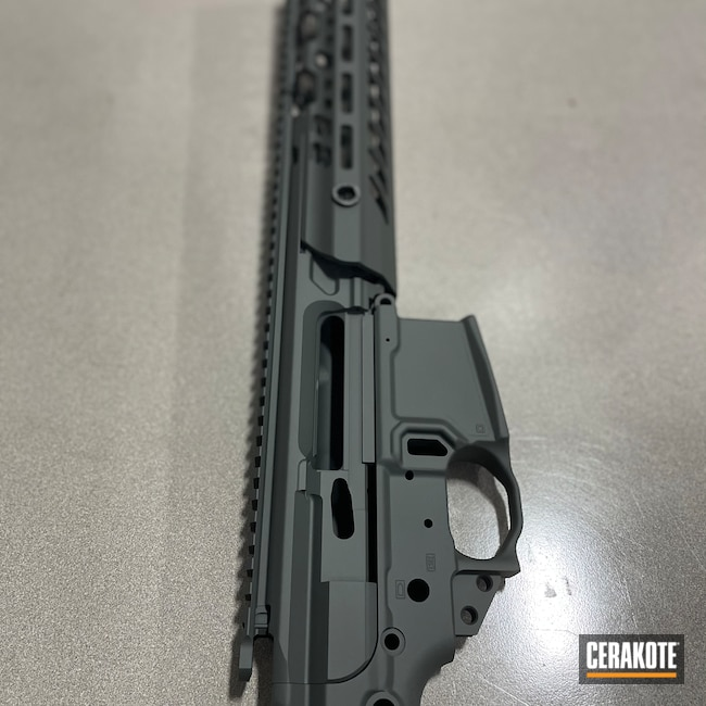 Cerakoted: S.H.O.T,Firearm,Sig Sauer,SIG™ DARK GREY H-210,AR-15