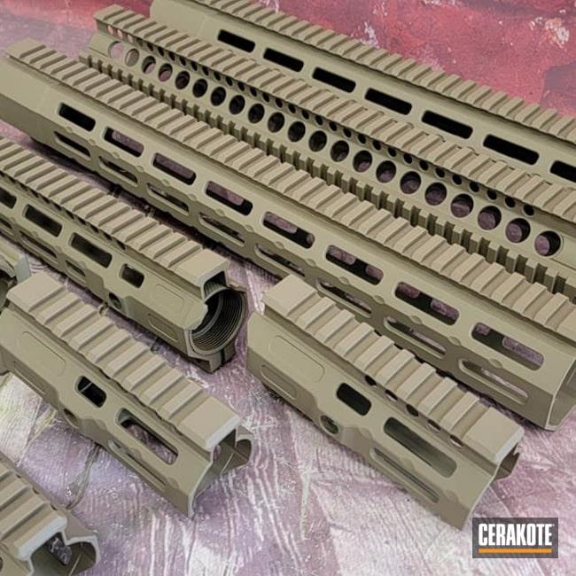 Cerakoted: S.H.O.T,Handguards,Gun Parts,Ar Rail,Flat Dark Earth H-265,AR Parts