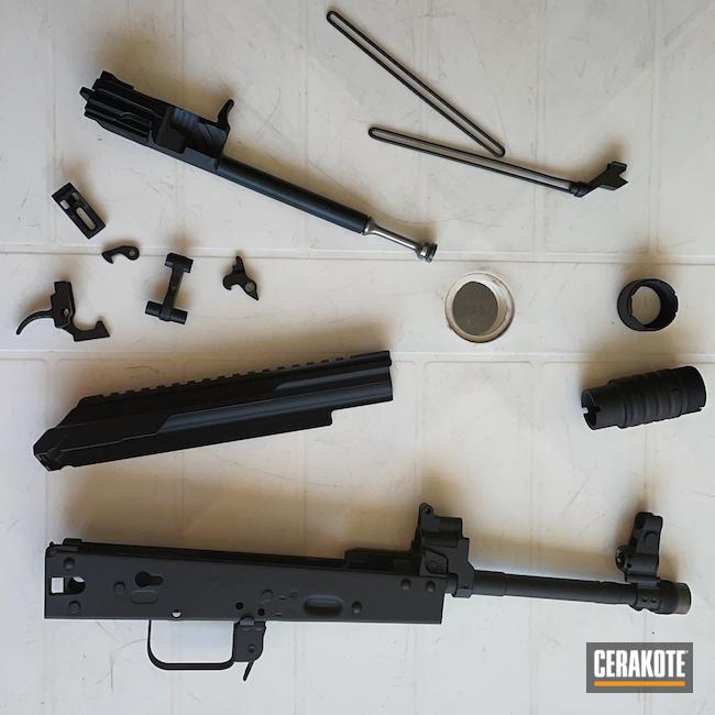 Cerakoted: S.H.O.T,MICRO SLICK DRY FILM LUBRICANT COATING (Oven Cure) P-109,Graphite Black H-146,5.45x39,AKS-74U