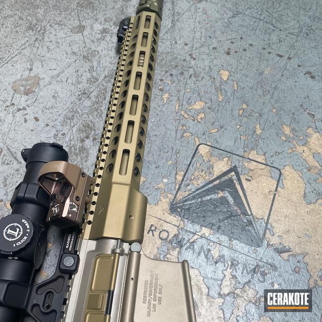 Cerakoted: Hodge Defense,Sand E-150,Barrel,Hodgeflauge,FN,Gold H-122,Custom,Surefire,HK,Leupold,LMT,AR-15,S.H.O.T,Custom Mix,Rifle,Silencer,Tactical Rifle,Smoke E-120,Suppressor,Jesse James Eastern Front Green H-400,5.56,Titanium E-250,CERAKOTE GLACIER GOLD C-7800,HAZEL GREEN H-204,Hunting Rifle,AR,MOSS E-210,CERAKOTE GLACIER GREEN C-8100,CERAKOTE GLACIER BLACK C-7600