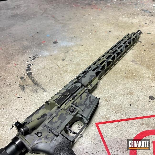 Cerakoted: S.H.O.T,Radical Firearms,#,Sniper Green H-229,Graphite Black H-146,.223,SIG™ DARK GREY H-210,MultiCam Black,.223 Wylde,AR-15,Black Multi Cam