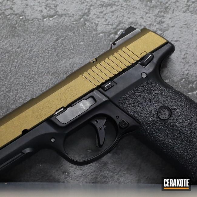 Cerakoted: S.H.O.T,Ruger,Burnt Bronze H-148,Pistol,.40,Handgun