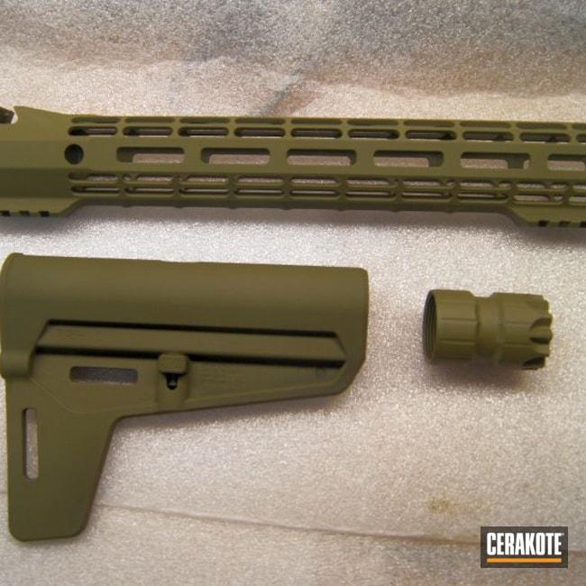 Cerakoted: S.H.O.T,Aero Precision,AR-15 Brace,Forest Green H-248