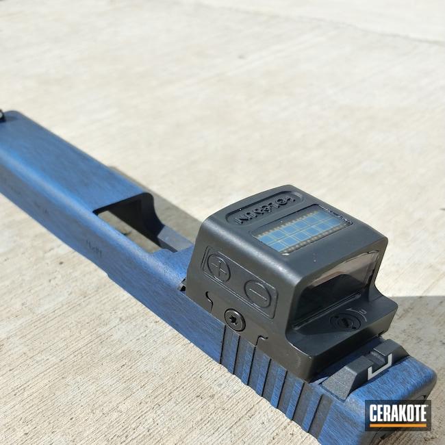 Cerakoted: S.H.O.T,RMR,NRA Blue H-171,Red Dot,Graphite Black H-146,Glock,Holosun,Glock 17,G17,.9