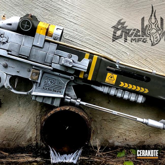 Cerakoted: S.H.O.T,BRN-180,AR-15 Pistol,Armor Black H-190,Fallout,MAGPUL® O.D. GREEN H-232,SUNFLOWER H-317,.300 Blackout,AR-15