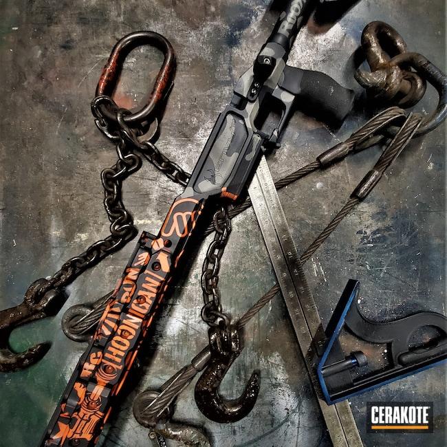Cerakoted: S.H.O.T,Sniper Grey H-234,Precision Rifle,Graphite Black H-146,HI-VIS ORANGE H-346