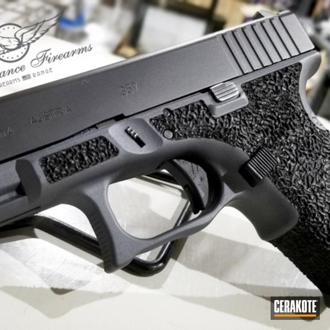 Glock Cerakoted Using Platinum Grey