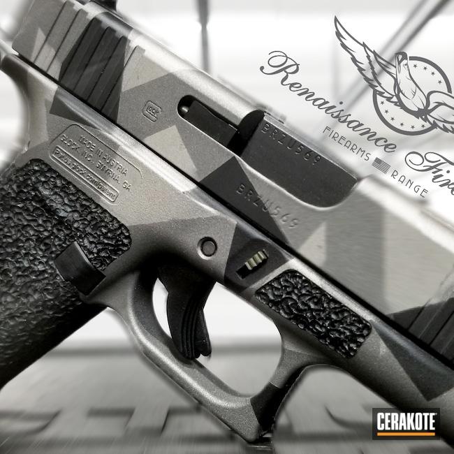 Cerakoted: S.H.O.T,Graphite Black H-146,Stainless H-152,Tungsten H-237,Splinter Camo,Hand Stippled,Geometric Camo,Laser Engrave
