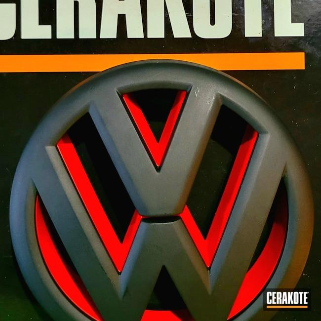Cerakoted: S.H.O.T,Graphite Black H-146,USMC Red H-167,Volkswagen,Automotive