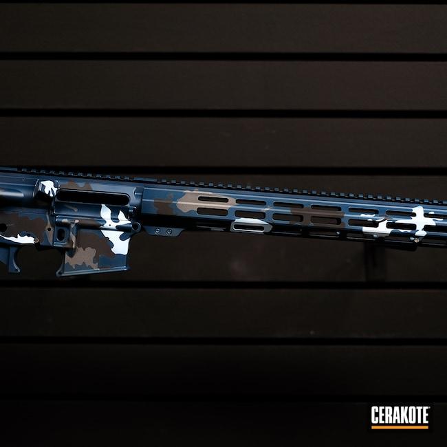 Cerakoted: S.H.O.T,Rifle,Battle Rifle,Anderson,Blue,Tungsten H-237,AR Parts,AR Build,AR15 Lower,Custom Rifle,Graphite Black H-146,AR,AR Project,BATTLESHIP GREY H-213,Custom Rifle Build,AR Upper,Ar Rail,AR Rifle,NAVY E-220,AM-15,AR-15