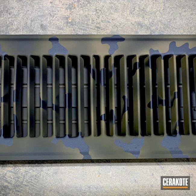 Cerakoted: HVAC,Sniper Grey H-234,Coyote Tan H-235,Sniper Green H-229,BLACKOUT E-100,Floor Vent