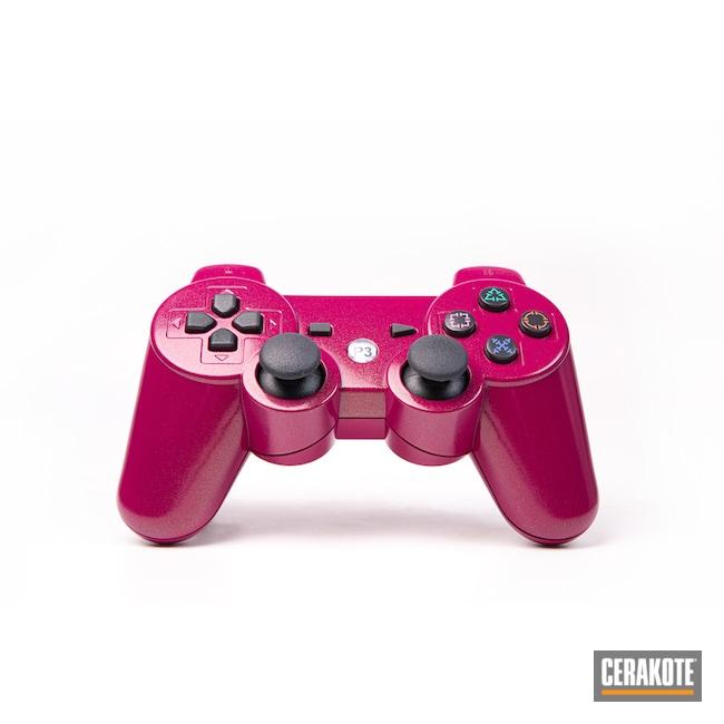 Playstation Control Cerakoted Using Cerakote Fx Hunter And Sangria