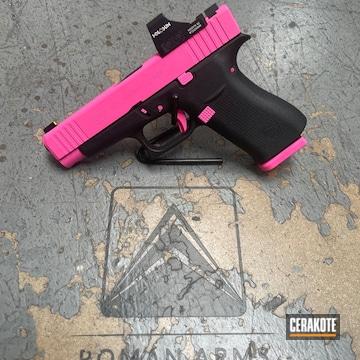 Glock 48 Cerakoted Using Prison Pink