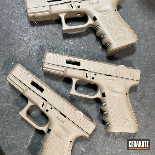 Glock 19 Cerakoted Using Magpul® Fde
