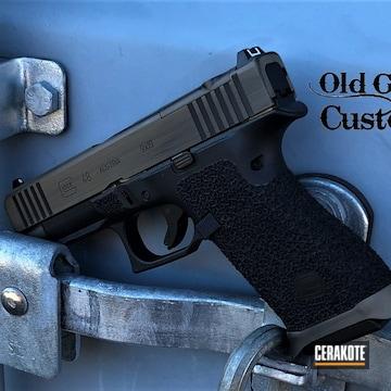 Glock 48 Cerakoted Using Graphite Black And Magpul® Flat Dark Earth