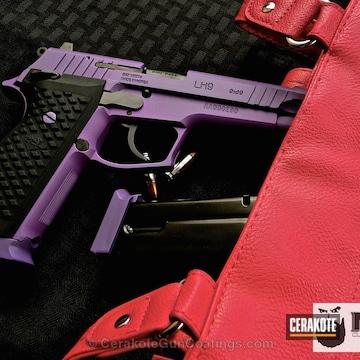 Cerakoted H-217 Bright Purple With C-110 Microslick