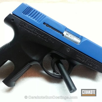 Cerakoted H-220 Ridgeway Blue