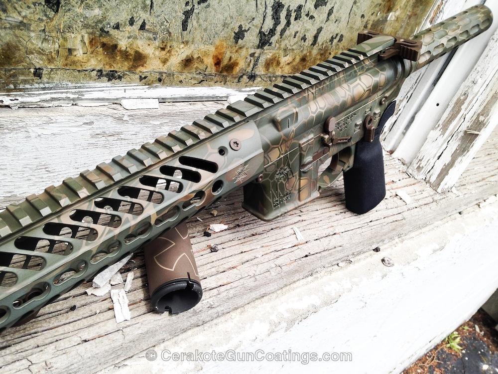 Cerakoted: MAGPUL® FLAT DARK EARTH H-267,Spike's Tactical,Patriot Brown H-226,Tactical Rifle,Noveske,MAGPUL® O.D. GREEN H-232