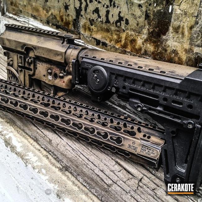 Cerakoted: Coyote Tan H-235,Patriot Brown H-226,Armor Black H-190,Tactical Rifle