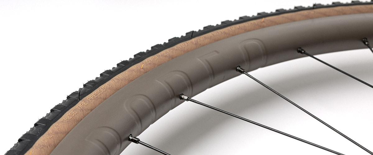 Cerakoted bicycle wheel