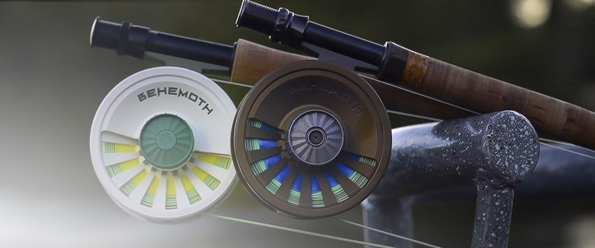 Cerakoted Behemoth fishing reels