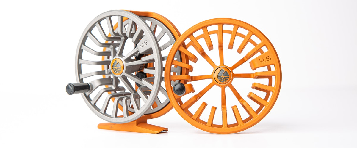 Cerakoted fishing reels