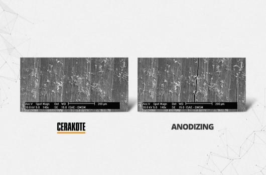Cerakote vs. Anodizing