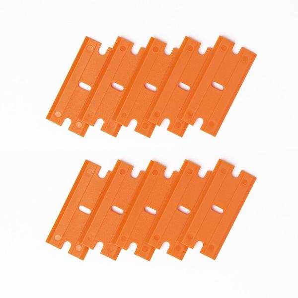 Plastic Razor Blades - 10 pack