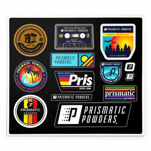 Prismatic Lifestyle Sticker Sheet