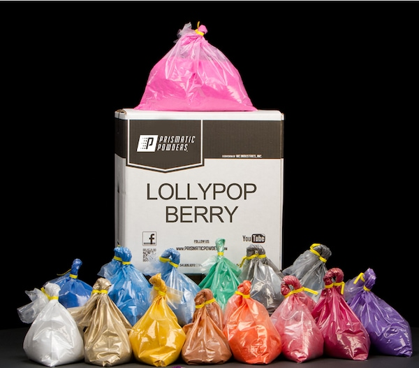 LOLLYPOP BERRY TWO COAT POWDER COATING KIT
