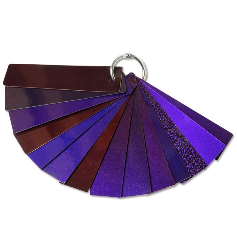 Lollypop Purple Two Coat Swatch Set