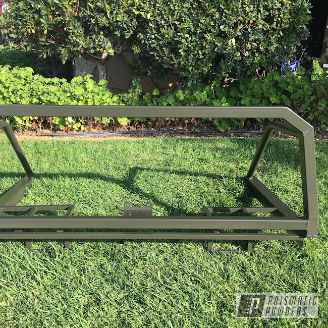 Powder Coating: Rack,Automotive,Off-Road,RAL 6015 RAL-6015,Ford