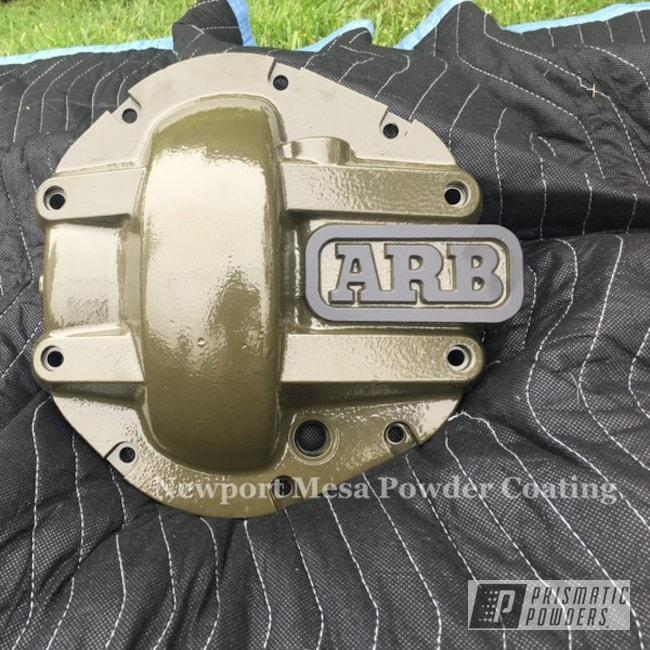 Powder Coated Jeep Differential Covers