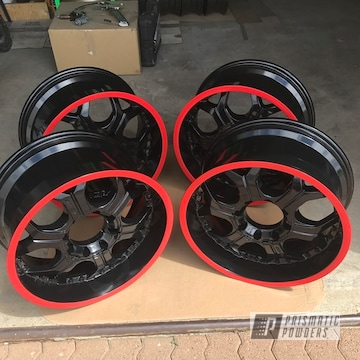 Powder Coated 20 Inch 4x4 Wheels