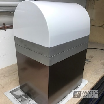 Powder Coated Living Urn